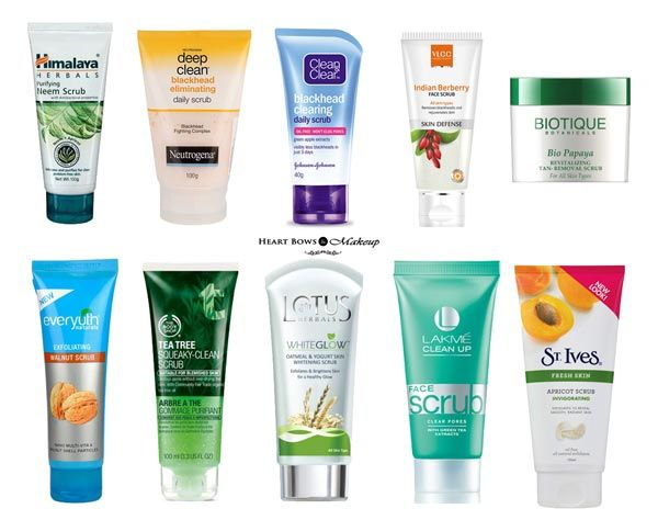 Best Face Scrubs For Oily Skin Blackheads In India Our Top 10