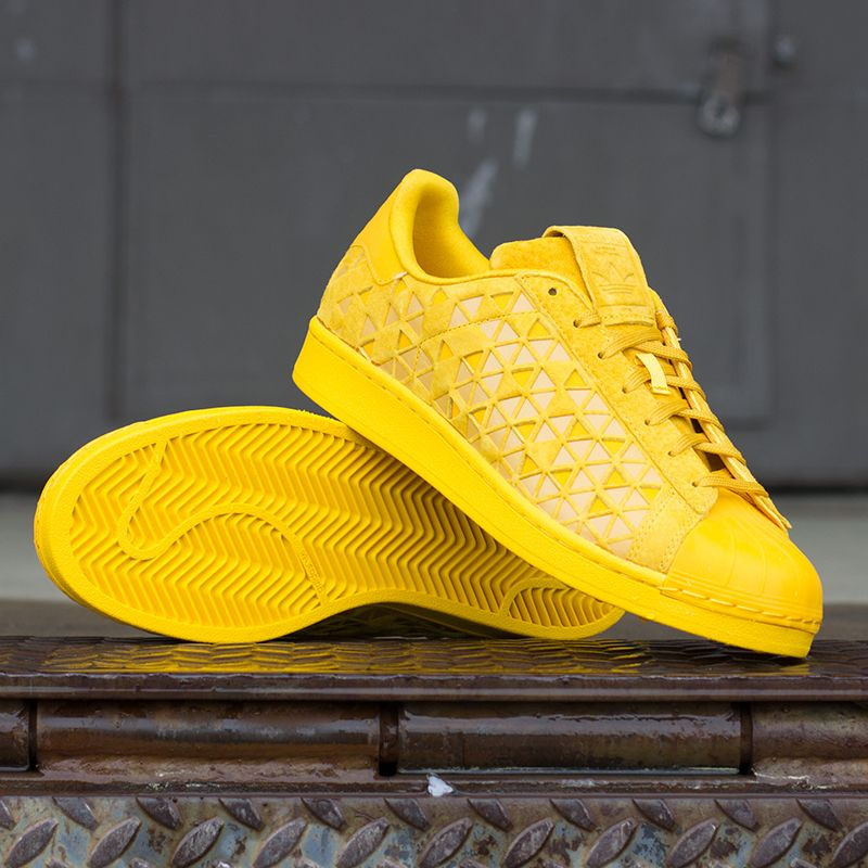The Adidas Superstar Xeno 'Easter Gold' is available on