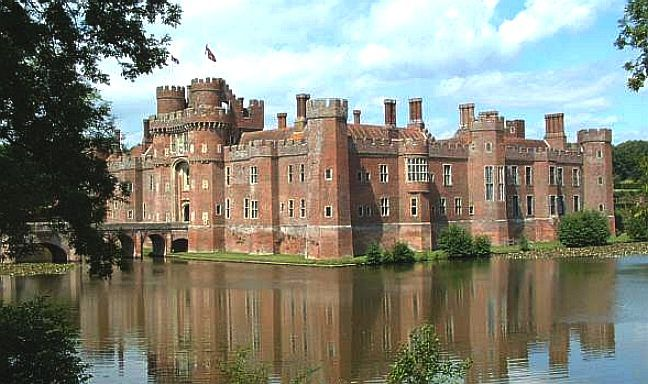 Castles In England For Sale Herstmonceux Castle And Moat
