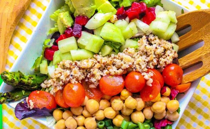 Layers Of Happiness A Food Blog With Delicious Healthy Recipes Cheesecake Factory Vegan Vegetarian Dinners Vegan Salad