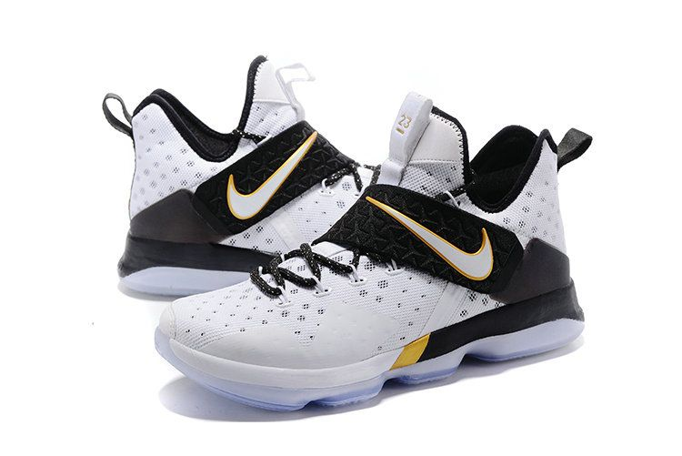 official photos 022d1 913e6 Newest Lebrons Lebron 14 XIV BHM White Metallic Gold Black History Month