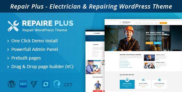 Free Download Repairwp V1 1 Electrician Repairing Wordpress