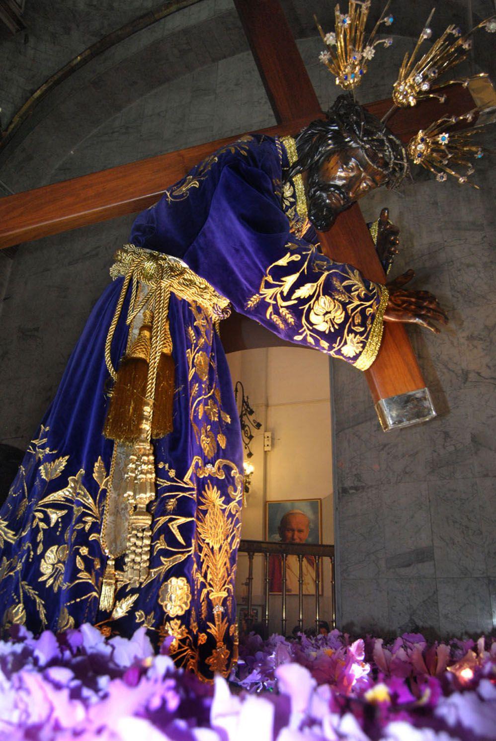 Adorado Nazareno de San Pablo, tradición de los feligreces todos ...