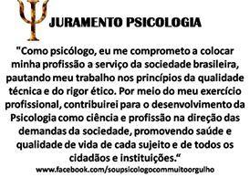 juramento do psicólogo