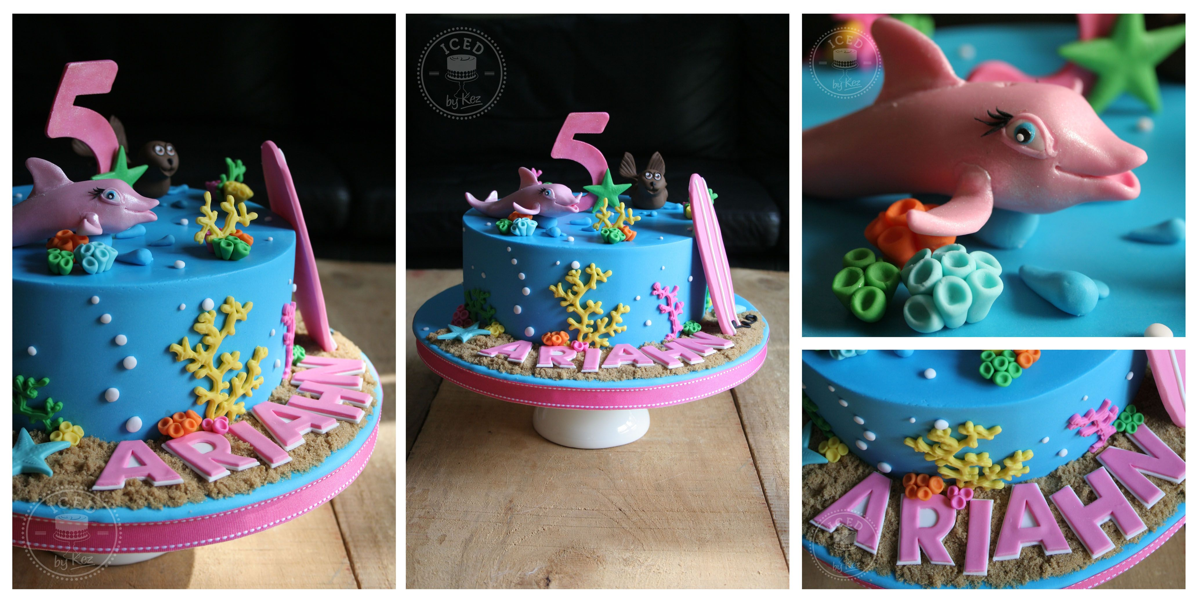Dolphin Cake Inspired By Barbie A Mermaid Tale