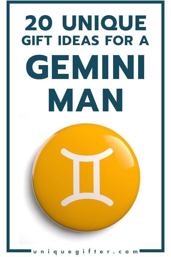 Unique Gift Ideas For A Gemini Man