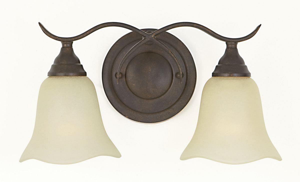 0-035898>Morningside 2-Light Bath Vanity Light Grecian Bronze