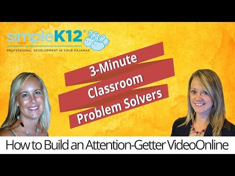 How to Build an Attention Getter Video - Simplek12