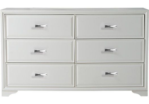 shop for a belcourt white dresser at rooms to go find dressers that will look