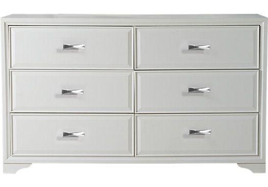 Belcourt White Dresser White Dresser Bedroom Dresser Styling Belcourt
