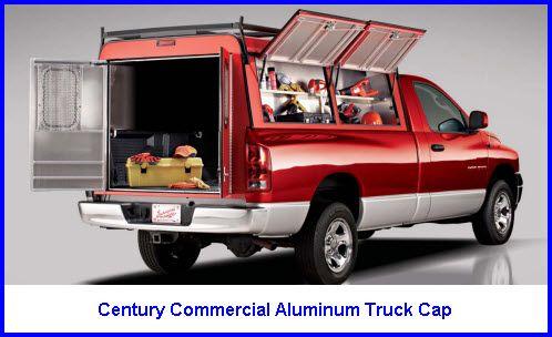 Truck Toppers Century Commercial Aluminum Truck Cap