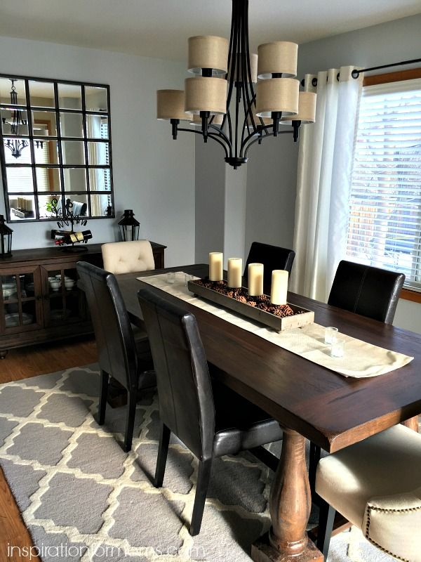 Perfect Before And After Party (Just A Little Late!) Dining Room MakeoversThrifty  ... Home Design Ideas