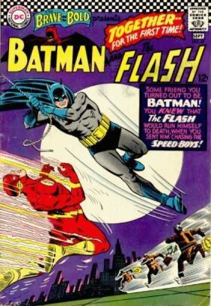 Brave And The Bold 67 Batman Dc The Flash Speed Boys