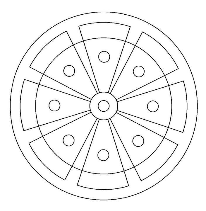 Mandala #mandala #mandalas #coloriage \u2026 Pinteres\u2026