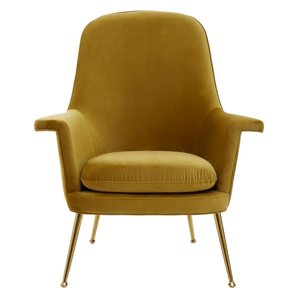 Harli Velvet Statement Chair In 2020 Chair Unique Furniture Upholstery