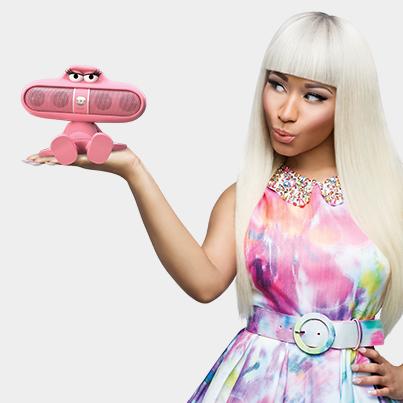Nicki Minaj Pink Pill Commercial Nicki Minaj Beats By Dre Celebrities
