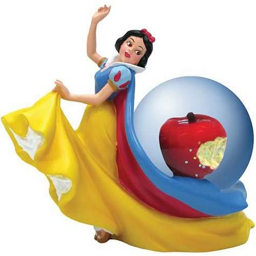 snow globes | Snow White Apple Water Globe - Westland Giftware - Snow White and the ...