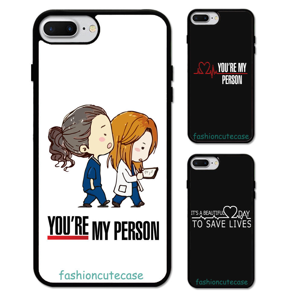 Grey\'s Anatomy You\'re my person Rubber Phone Case Cover For iPhone 5 ...