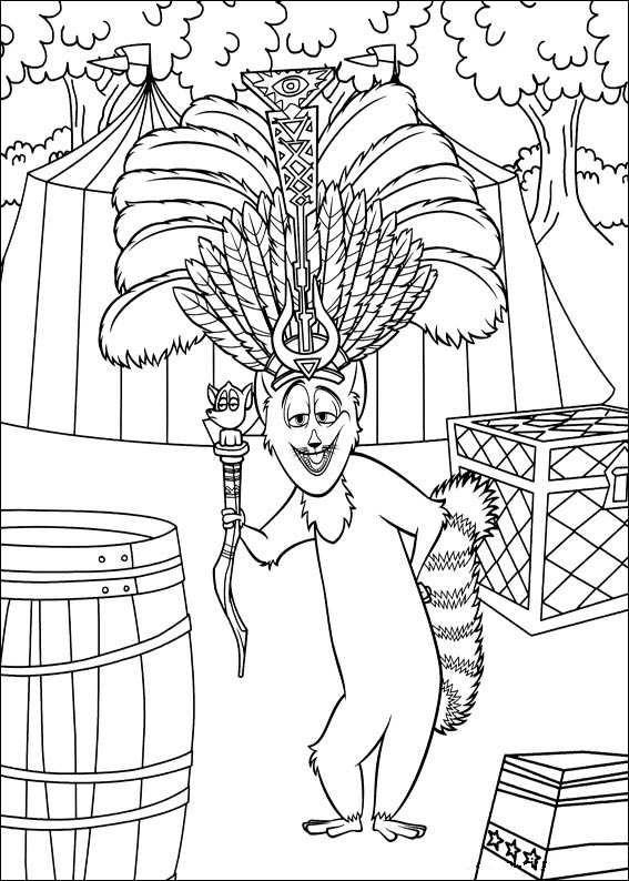 ausmalbilder madagascar  coloring pictures coloring