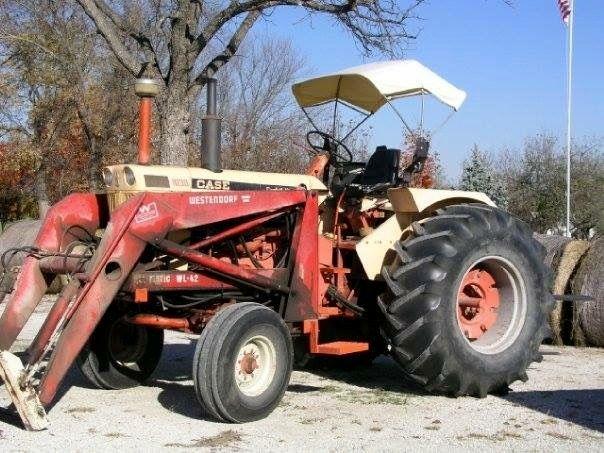 1030 Case Tractor With Loader : Case comfort king w westerndorf wl loader