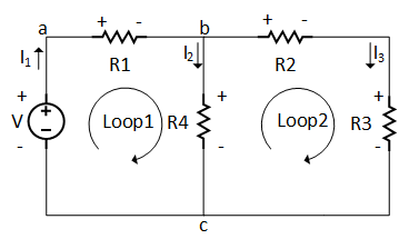 Kirchhoff's Voltage Law (KVL) with Example: Circuit