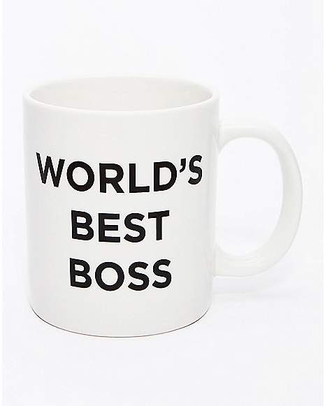 World's Best Boss Mug 20 Oz.