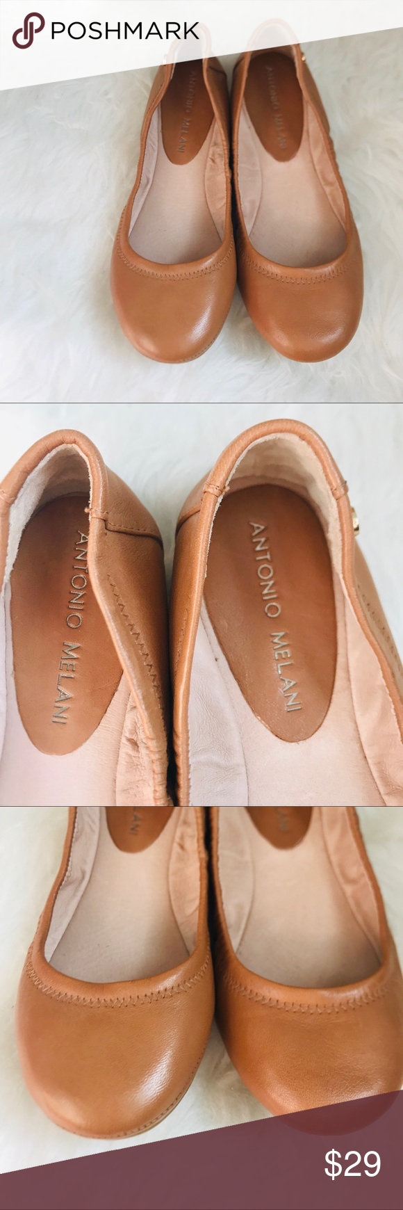 Antonio Melani Prima Leather Ballet