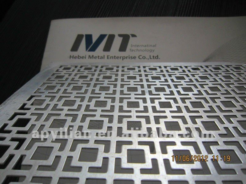 stainless steelphosphor bronze perforated sheet metal for - Decorative Sheet Metal