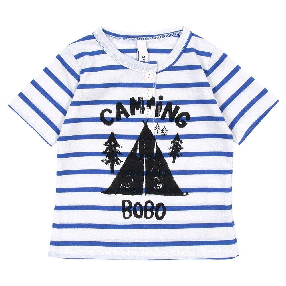Camping t-shirt - Bobo Choses