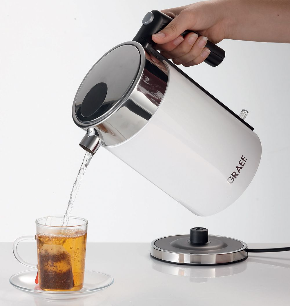 German Made Quality Graef White Electric Kettle at CookInStyle.co.uk ...