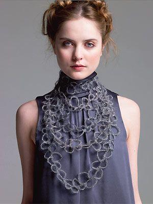collana crochet da Rowan
