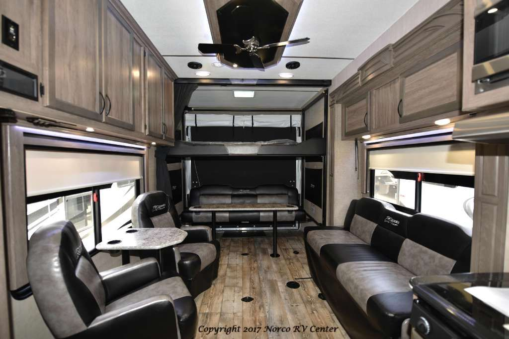 2017 Pacific Coachworks Ragen 3213 Home Decor 5th Wheel Toy
