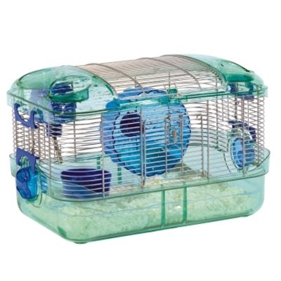 Super Pet Crittertrail Quick Clean Habitat 16x10 5x10 5 Inch 045125605280 Quick Easy To Clean Habitat Fo Small Animal Cage Small Pets Quick Cleaning