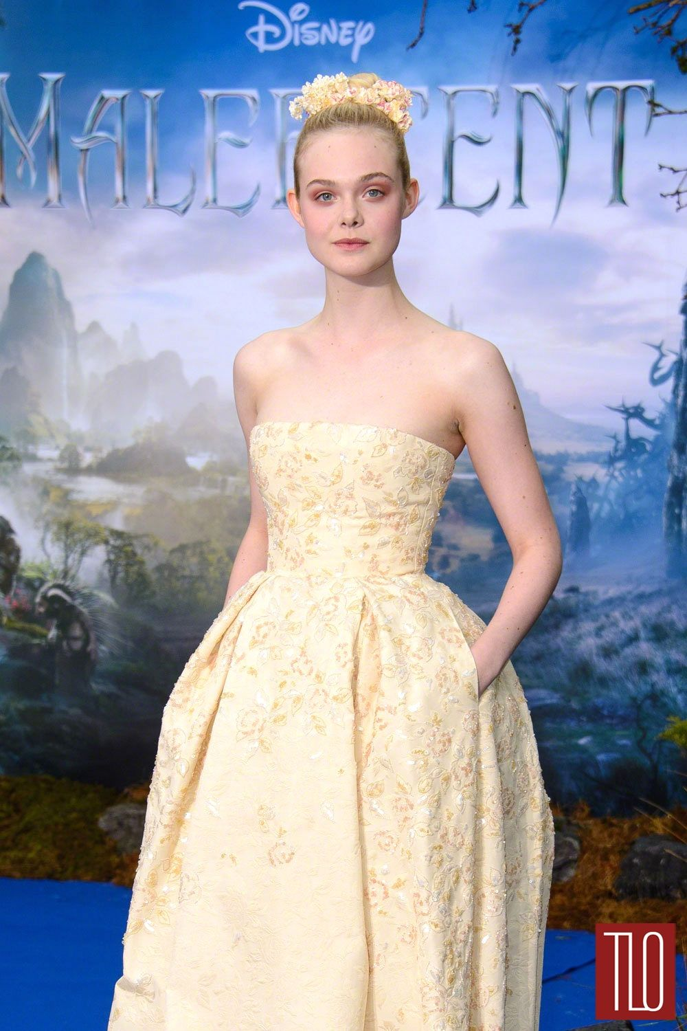 Elle Fanning Georges Hobeika Couture Red Carpet Faves