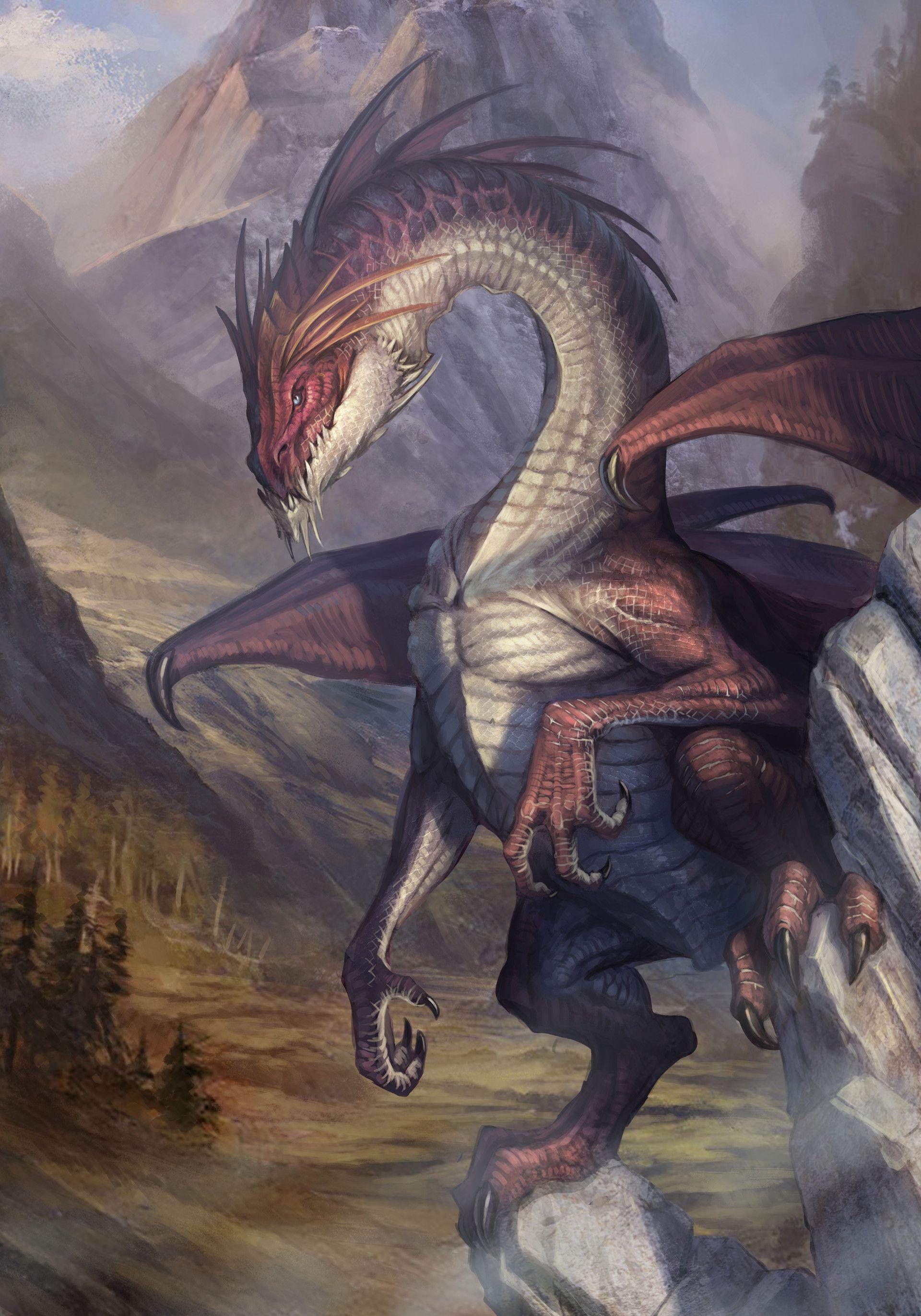 ArtStation - Rock dragon, Klaher Baklaher | Dragon ...