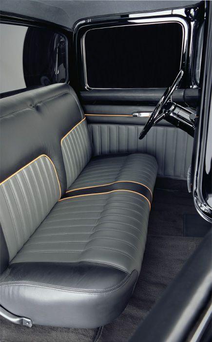 Chip Foose Foose Design Custom Car Interior Car Interior Upholstery Truck Interior