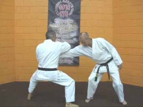 Tom Hills Dojo Goju Karate Kata Sepai Seipai 1st Move