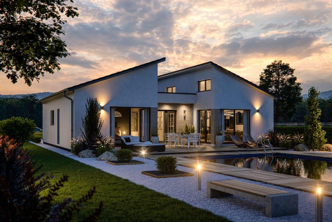 Bungalow Liberty M - RENSCH-HAUS #bauen #fertighaus ...