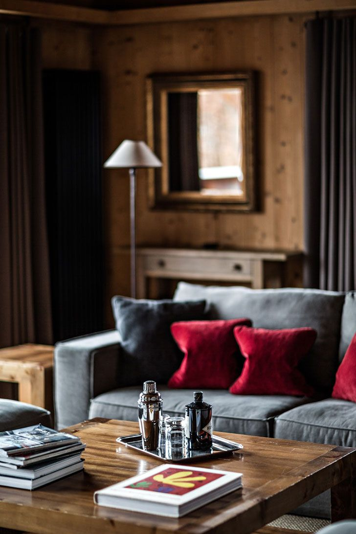 Chalet Enora Is Perhaps The Coziest Alpine Home | Interiors Online, Cozy  And Wooden Cottage