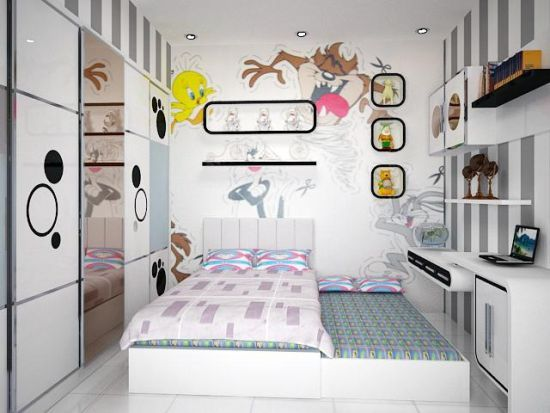 Desain Kamar Tidur Minimalis Ala Korea Dll Di 2018 Bedroom Kids