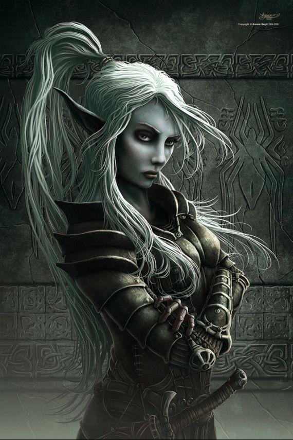 Fantasy Elf Art Warrior