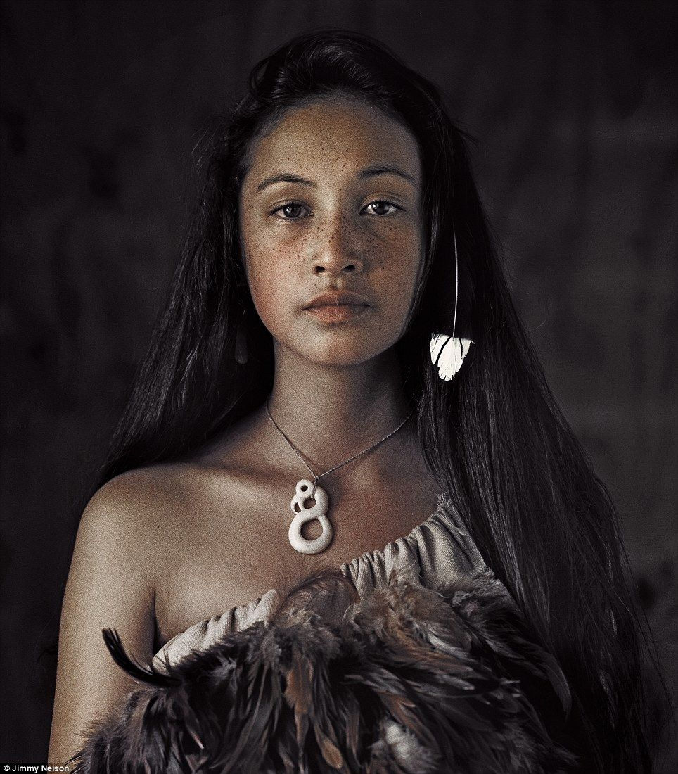 Maori Natives: Dying Life Of The Tribe: Spectacular Pictures By British