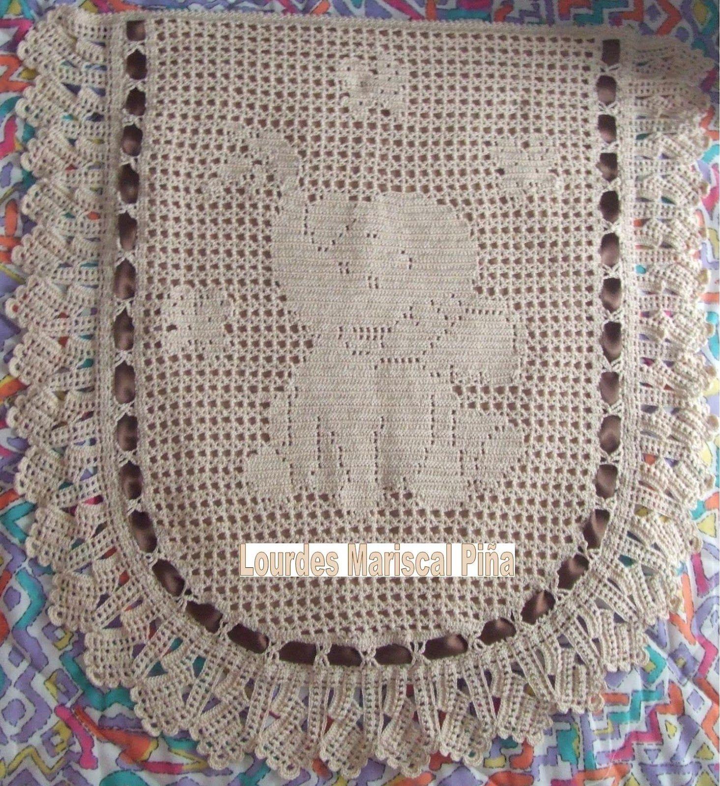 Colchas para carritos de beb en crochet imagui - Colchas a ganchillo muestras ...