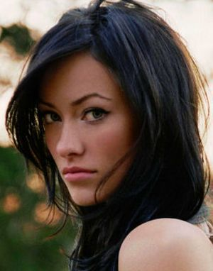 dark Olivia hair wilde