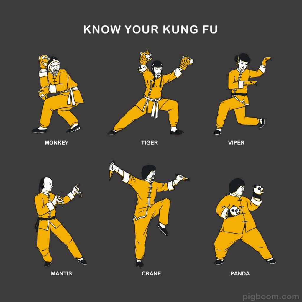 Know Your Kung Fu - Pigboom | Artworks, Illustration ...