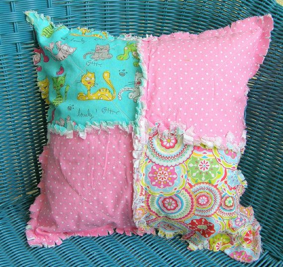 Decorative Pillow Cat's Went Out Love The Colors In This Pillow Custom Little Girl Decorative Pillows