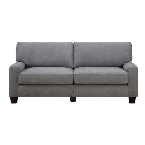 Best Serta® Rta Palisades 73 Sofa Brown Leather Sofa Bed 400 x 300