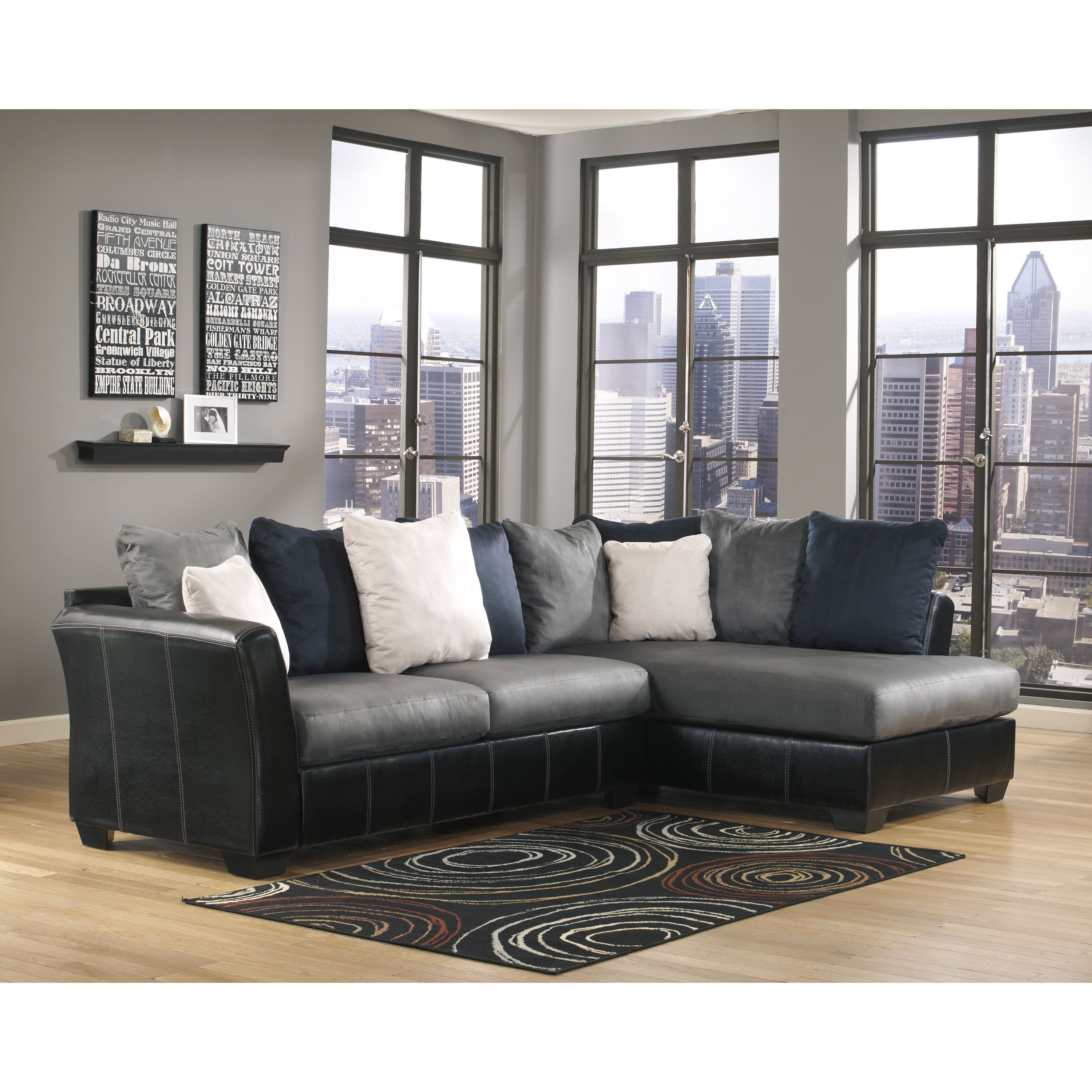 Modern Design Meets Relaxing Comfort With The Masoli Sectional From