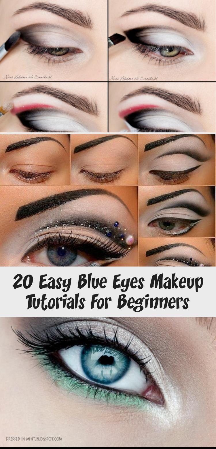 20 easy blue eyes makeup tutorials for beginners   makeup