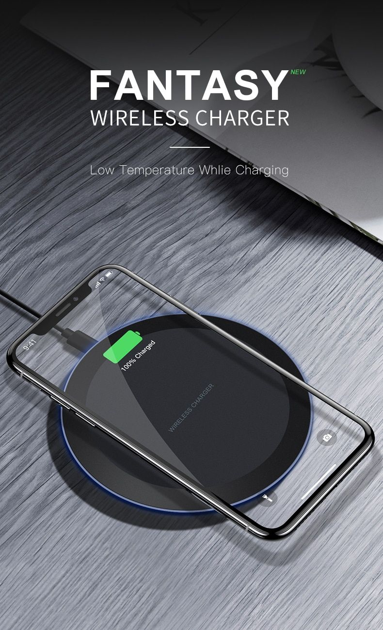 Esvne 5w Qi Wireless Charger For Iphone X Xs Max Xr 8 Plus Fast Charging For Samsung S8 S9 Plus Note 9 8 Usb Pho Wireless Charger Sony Mobile Phones Sony Phone